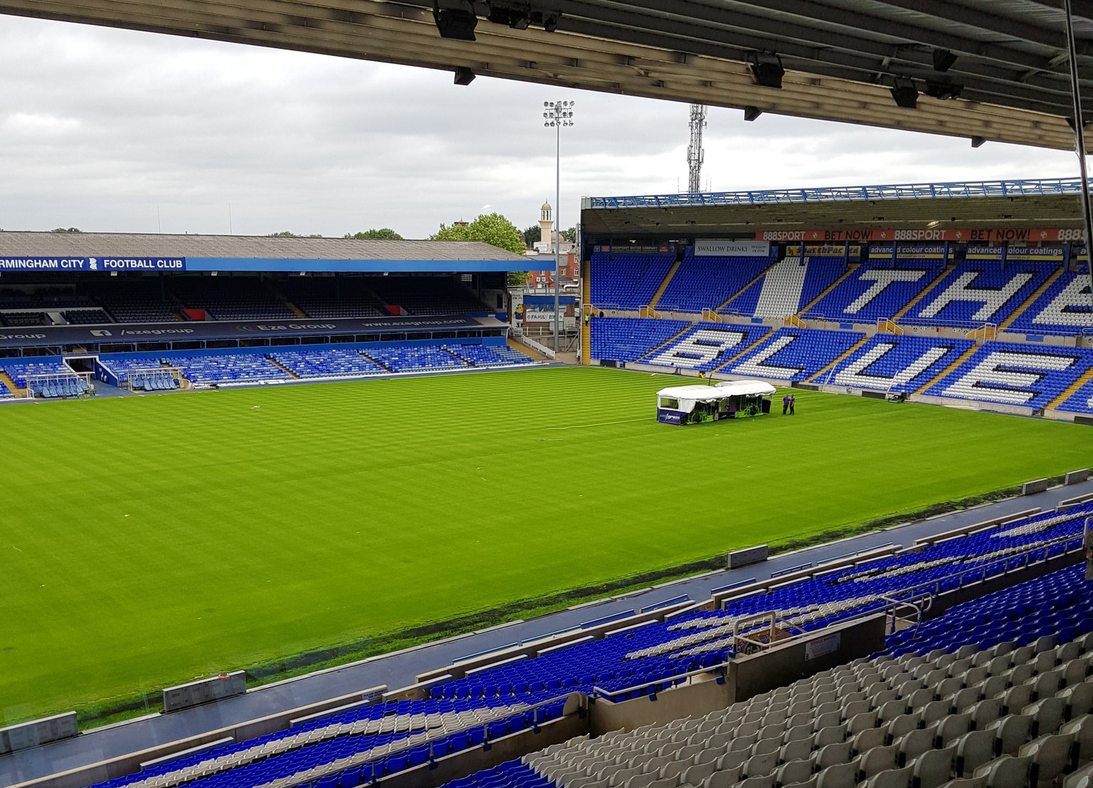 New Blues Pitch